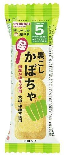 和光堂 はじめての離乳食 裏ごしかぼちゃ 2.4g×6個,離乳食,ペースト,