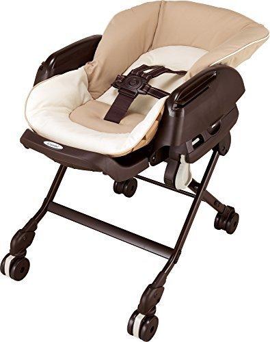 コンビ ベビーラック ネムリラ FF マロンブラウン 新生児~4才頃まで対象 リバーシブルシートモデル,離乳食,椅子,