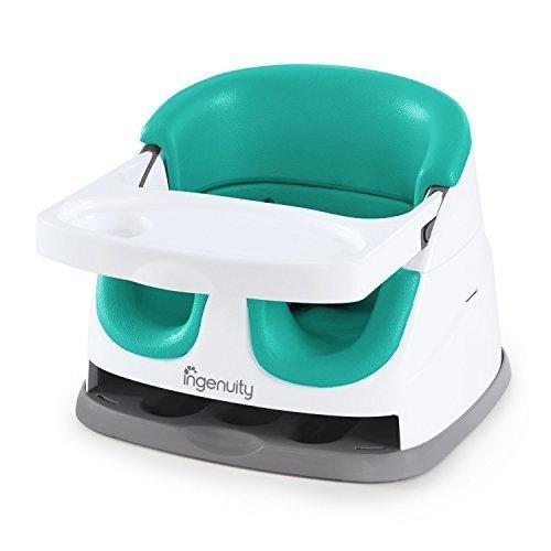 ingenuity インジェニュイティ Baby Base 3.0 ベビーベース 3.0 ベビーソファ グリーン 6ヶ月~ (11574) by Kids II,離乳食,椅子,