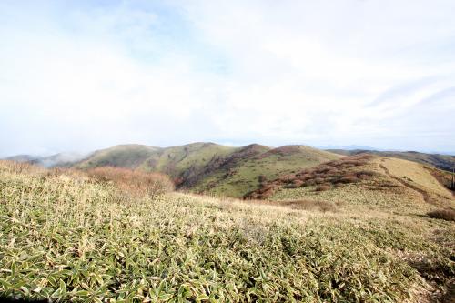 笠取山山頂からの景色,愛媛,子ども,登山