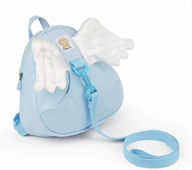 日本製( Angel DEPT.) セーフティリュック エンジェル・サックス 紐付き迷子リュック・ハーネス付 幼児・子供保護用,ベビー,リュック,