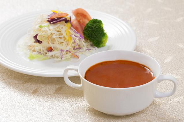 サラダとスープ,離乳食,お好み焼き,
