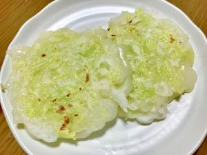 【離乳食後期】卵なし米粉のお好み焼き,離乳食,お好み焼き,