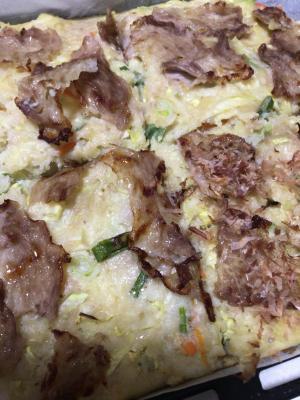 オーブンで簡単お好み焼き,離乳食,お好み焼き,