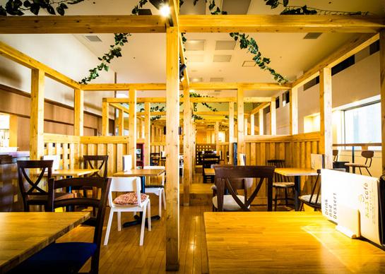 おふろcafe のカフェ,カフェ,スーパー銭湯,埼玉県