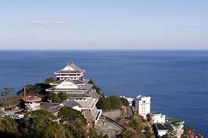 熱海城と海,トリックアート迷宮館,熱海,静岡