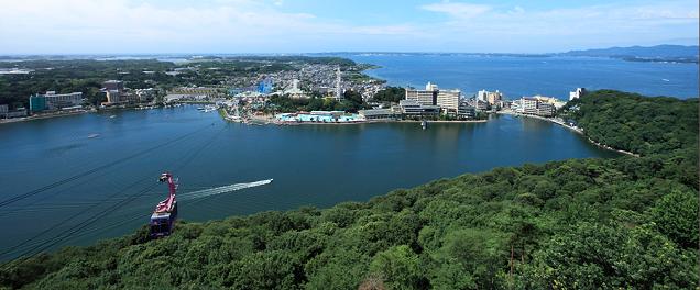 大草山展望台からの景色,浜名湖パルパル,