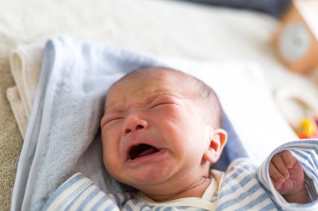 泣く赤ちゃんの顔,粉ミルク,サンプル,