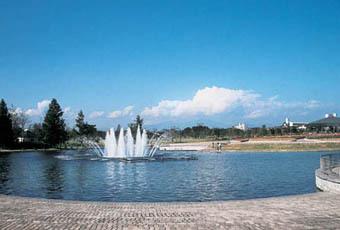 七北田公園の噴水,仙台,無料,おすすめスポット