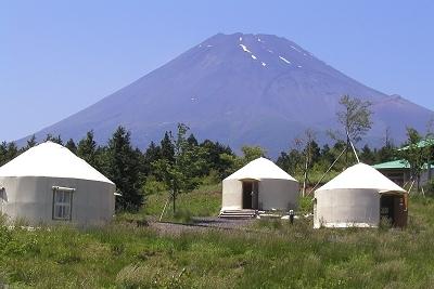 パオ集落,富士山こどもの国,キャンプ,