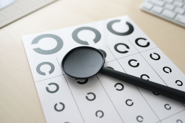 視力検査,視力,低下,