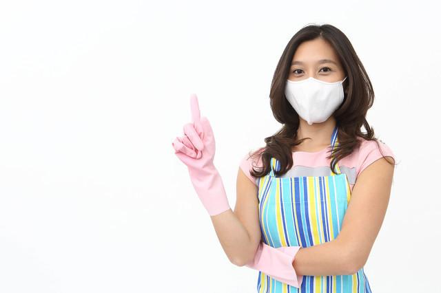 マスクゴム手袋女性,ウイルス性胃腸炎,子供,