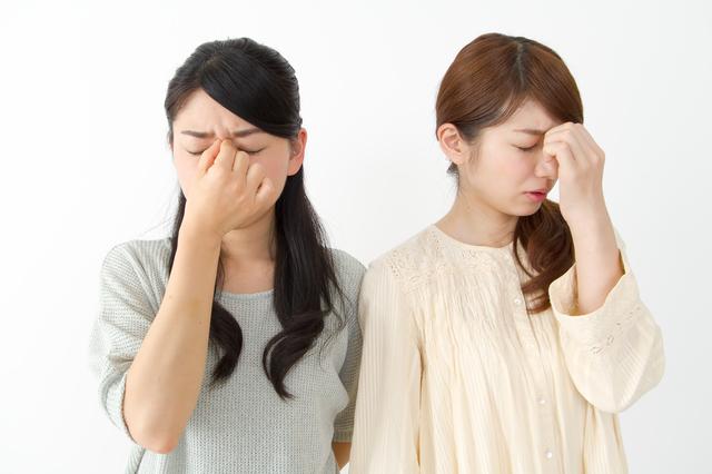 頭痛の2人,産後,頭痛,