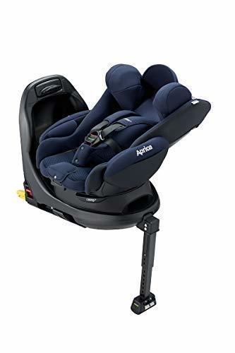 アップリカ ISOFIX固定 ISOFIX 回転式ベッド型 ディアターンプラスISOFIX AB 新生児から使える ネイビー 0か月~ (1年保証) 2107741,ベビーシート,