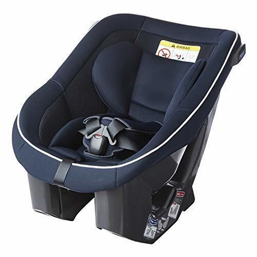 【Amazon.co.jp限定】 Child Guard(チャイルドガード) シートベルト固定 タカタ04 ビーンズ シートベルト 固定 チャイルドシート (0~4 歳向け) ネイビーホワイト 0か月~ (1年保証) TKAMZ003,ベビーシート,