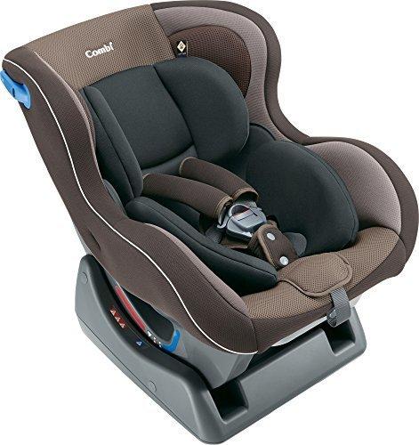 コンビ シートベルト固定 チャイルドシート ウィゴー サイドプロテクション エッグショック LG ブラウン 0か月~,ベビーシート,