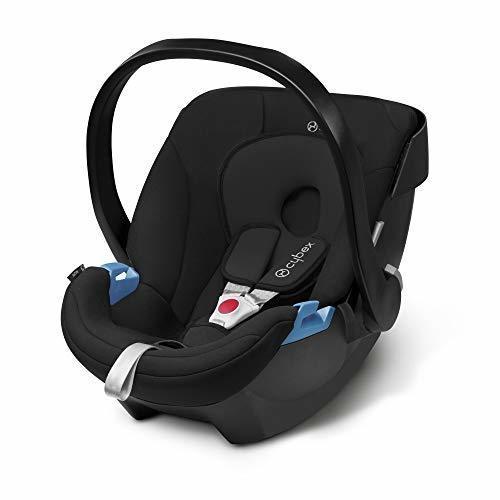 cybex ISOFIX・シートベルト固定両対応 ベビーシート 新生児用 トラベルシステム Aton エイトン ピュアブラック 0か月~ (3年保証),ベビーシート,