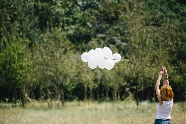 風船の写真2,バルーン,出産,