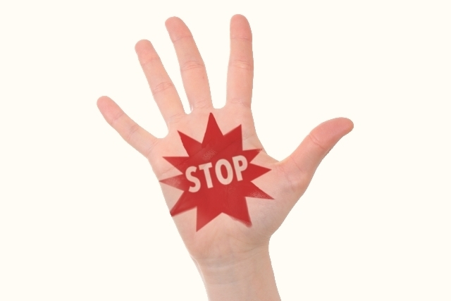 STOPのイメージ,妊娠,危険日,