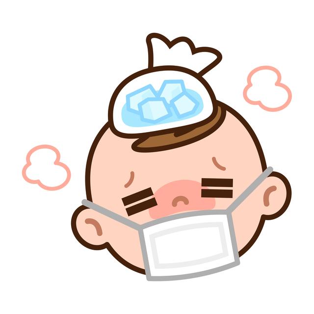 赤ちゃん発熱,急性中耳炎,赤ちゃん,