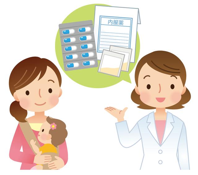 薬説明,急性中耳炎,赤ちゃん,
