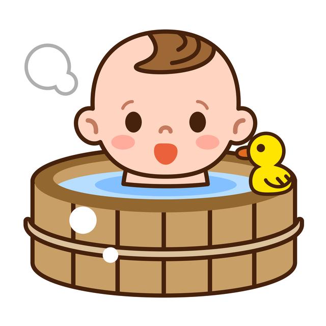 赤ちゃんお風呂,赤ちゃん,インフルエンザ,