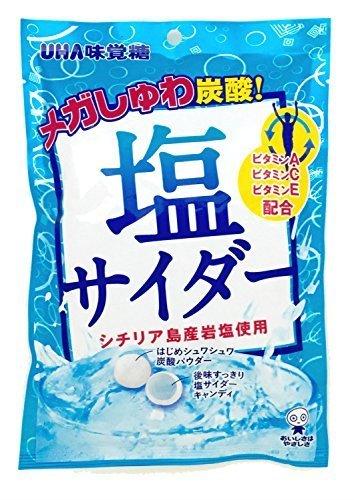 味覚糖 塩サイダー 66g×6袋,子供,熱中症,