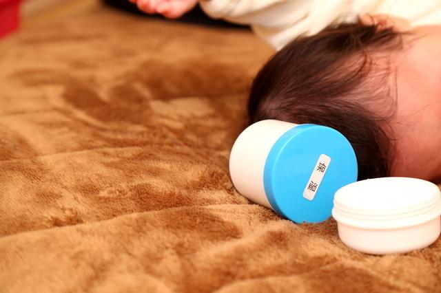 乳児湿疹,発疹,赤ちゃん,