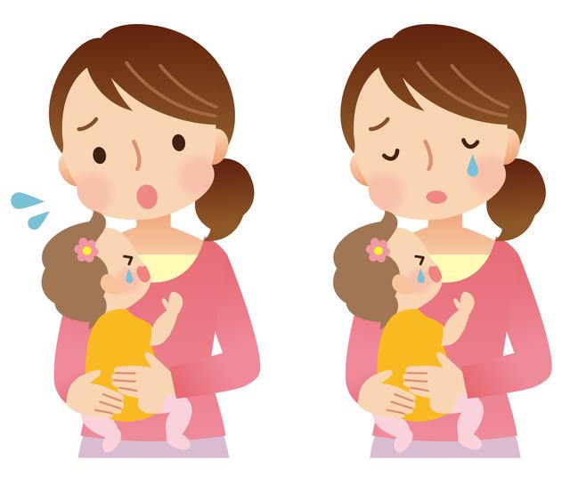 育児に悩む産後のママ,マタニティブルー,いつまで,妊娠中