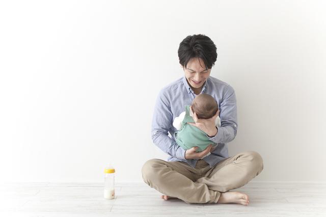 子育てをするパパ,出産後,生理,再開