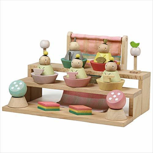 雛人形 プーカのひな人形 Puca HINANINGYO 積み木 ミニ雛人形 五人飾り 徳永こいのぼり,お雛様,