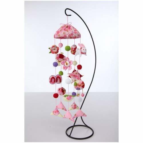 【京ちりめんつるし飾りキット】 傘宝つるし飾り ピンク LH-129,お雛様,