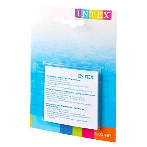 INTEX(インテックス) リペアパッチ 7×7cm 59631 [日本正規品],ビニールプール,