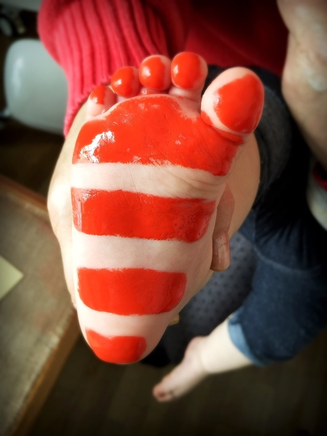 足形,手形,足形,アート