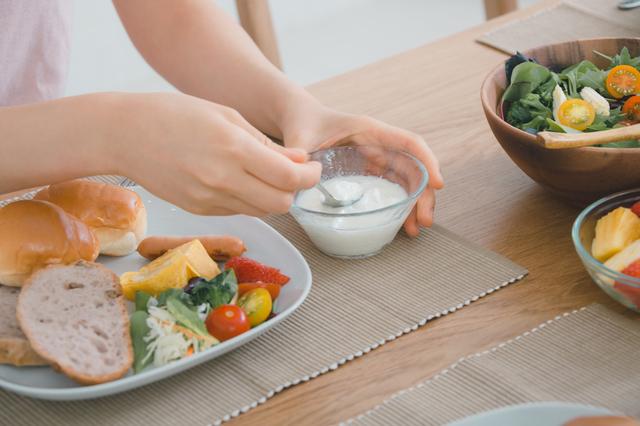 ヨーグルトを含むバランスの良い朝食,妊娠中,花粉症,