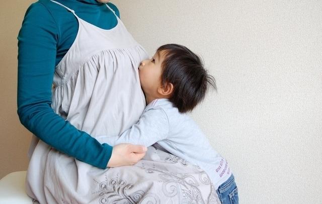 妊婦と幼児,妊娠中,眠い,