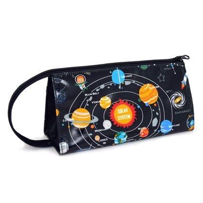 ペンケース ペンポーチ 太陽系惑星とコスモプラネタリウム(ブラック) N5020000,小学生,筆箱,