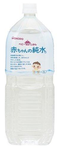 ベビーのじかん 赤ちゃんの純水 2L×6本,赤ちゃん,飲み物,