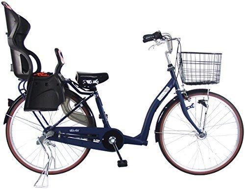 C.Dream(シードリーム) さくらママ 3人乗り対応 SKM63 26インチ 子供乗せ自転車 ネイビー 3段変速 100%組立済み発送,子ども乗せ自転車,電動なし,