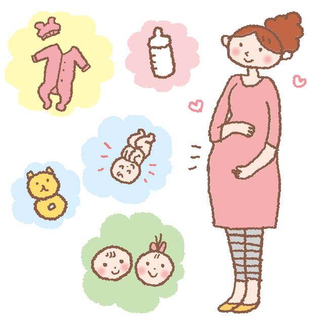 妊婦イラスト,出産準備,100均,
