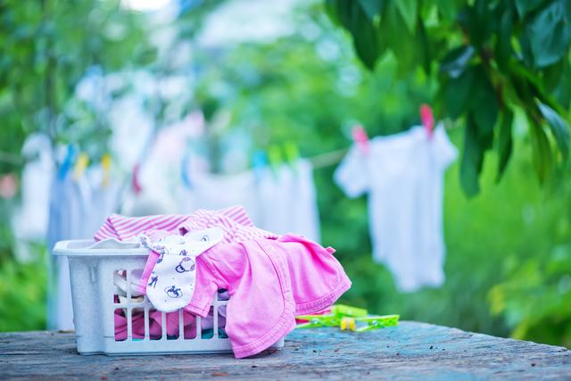 子供服の洗濯物,子供服,90,