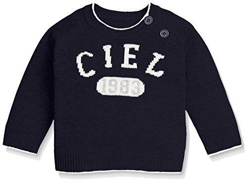 (コムサイズム)comme ca ism(コムサイズム) 長袖クルーニット 23-70KP06 09 ネイビー 80cm,子供服,90,