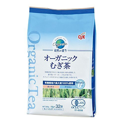 OSK 有機 自然の実り 麦茶 10g×32袋,赤ちゃん,麦茶,