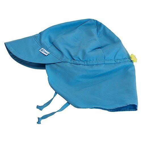 [ アイプレイ ] Iplay 帽子 Mサイズ サンウェア フラップ付 紫外線防止 UVカット キャップ? 737101 ライトブルー Sun Wear Flap Sun Protection Hat for head, neck, eyes Light Blue アウトドア べビー 赤ちゃん [並行輸入品],新生児,帽子,