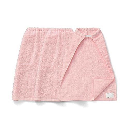 [ベルメゾン] タオルエプロン 同色 3枚セット ピンク サイズ:ショート,おりこうタオル,