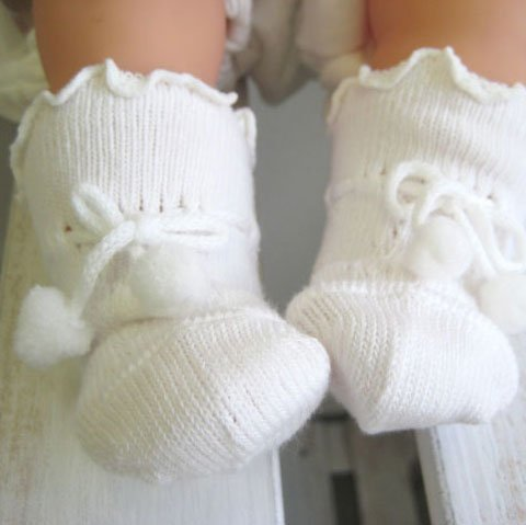 紐結び ズレない新生児用ソックス 8センチ ベビー用靴下,赤ちゃん,靴下,サイズ