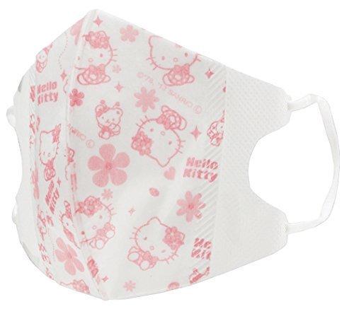SKATER 立体 マスク 10枚 子供用 ハローキティ MSKS1Q,子供用,マスク,