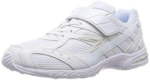 [シュンソク] SYUNSOKU 運動靴 レモンパイ (通学履き) マジックタイプ LEJ 2870 W/W (白/白/21.0),小学校,上履き,