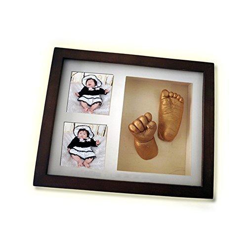 3D ベビーフォトフレーム,赤ちゃん,手形,足形