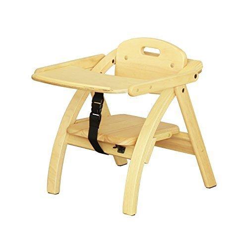 大和屋 アーチ木製ローチェア N NA(ナチュラル) ベビーチェア 木製 6カ月,ベビーチェア,